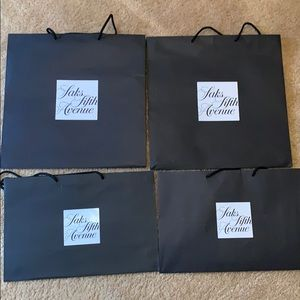 Authentic Saks bags